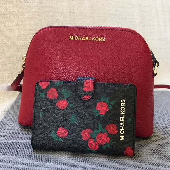 015a2e0f78f697 Michael Kors Bags | Set Adele Crossbody Bag And Wallet | Poshmark